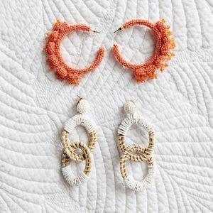 NWOT - Beaded earrings